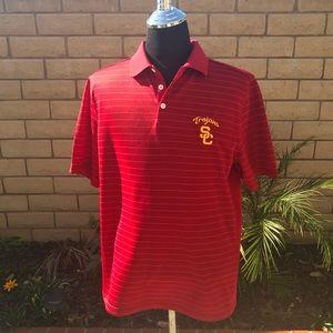 Men's USC polo shirt